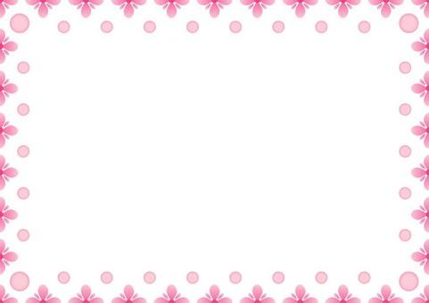 Pink Frame · Flower 2