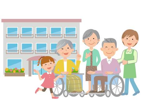 60206. Long-term care facility, family and caregiver 1