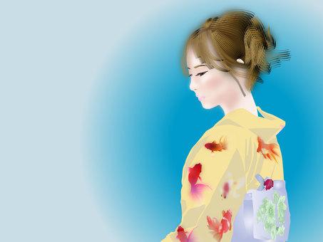 Summer Yukata girl