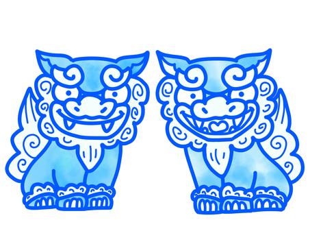 Shisa Blue