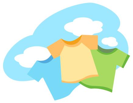 Clothing · sky · sunny
