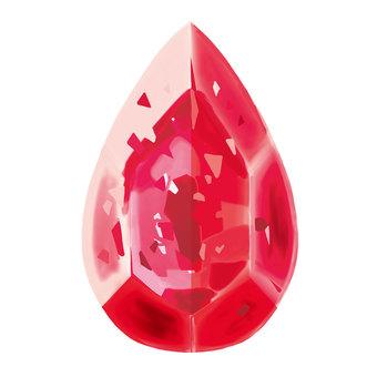 Gemstone (red)