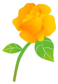 黃玫瑰·父親節的漸變