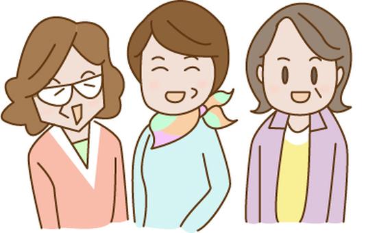 Three of my aunts