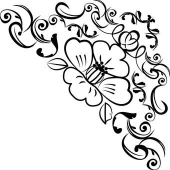 椿冬の花つばきツバキ植物和洋折衷コーナー