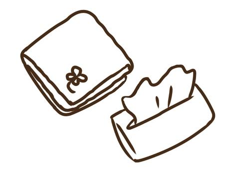 Handkerchief, Tissue