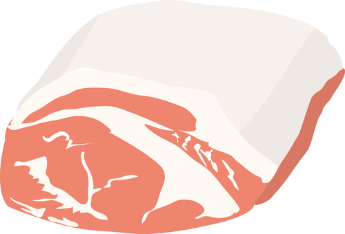食物系列肉類靴子版本豬