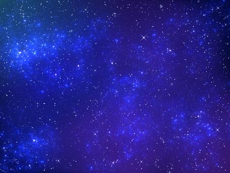 Starry sky and nebula 2