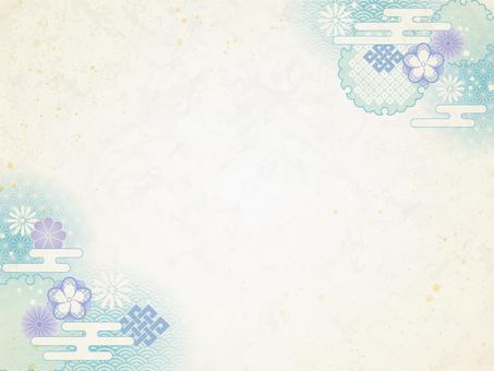 青和柄フレーム