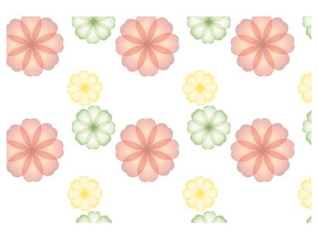 꽃 손잡이 5