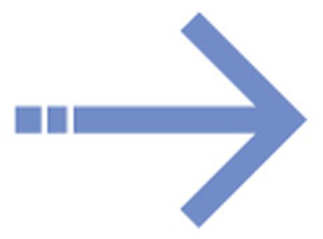 Single line arrow _ sky