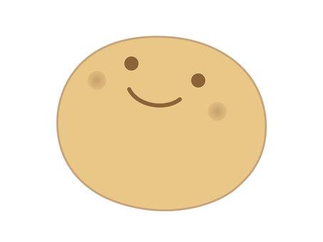 Round face bread