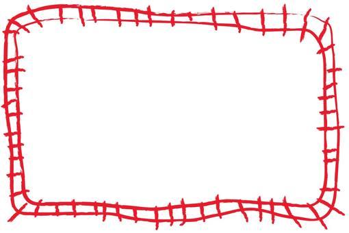 Crayon frame line
