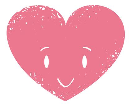 Heart's face