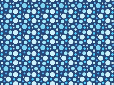 ai polka dot pattern with swatch background blue