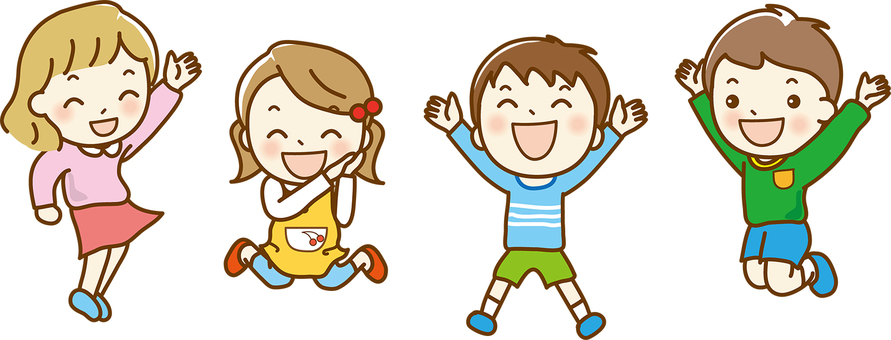 Children happy 01