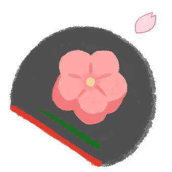 Japanese confectionery Sakura Obon