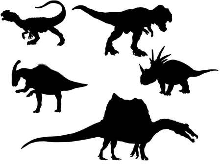 공룡 실루엣