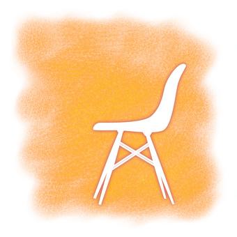 Warm space design chair