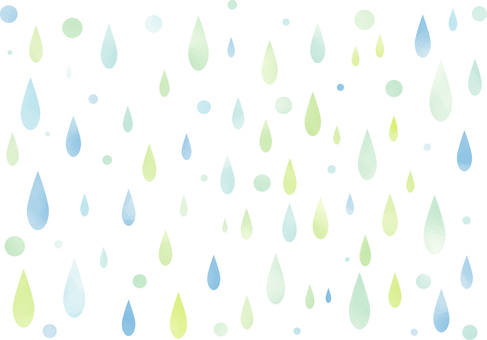 Watercolor touch illustrations for drips wallpaper