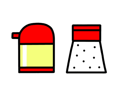 Seasoning vinegar salt