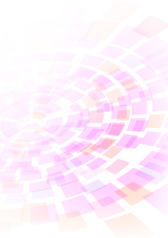 Pastel pink concentric circle vertical background material