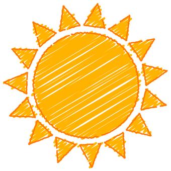 필기 바람 태양