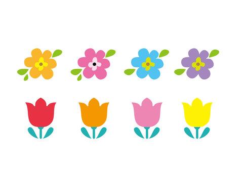 북유럽 풍의 꽃