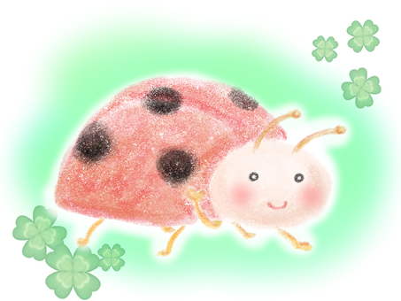 Ladybug (with background)