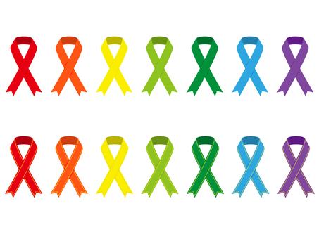 Various ribbons 7