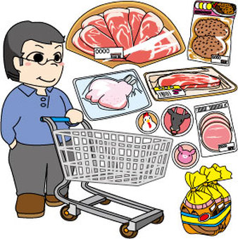 g_ shopping series _ meat