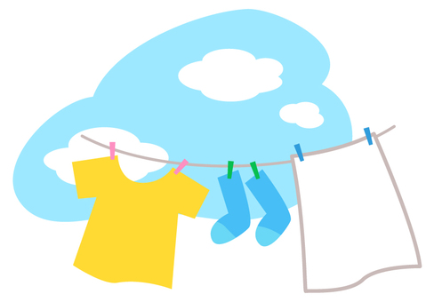 Laundry · hang _ sky