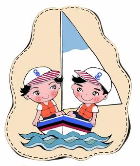Balanced yacht