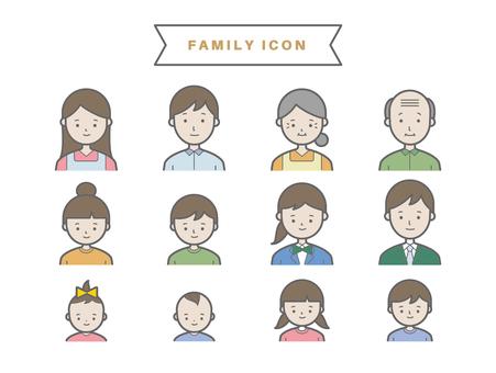 家族アイコン2