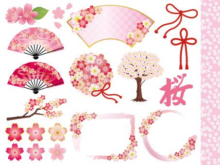 Spring Japanese Warehouse Material Summary · Set
