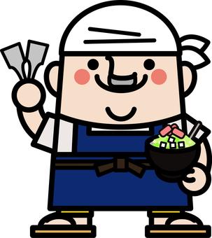 叔叔仙子Monja-yakiya