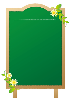 Menu board _ green