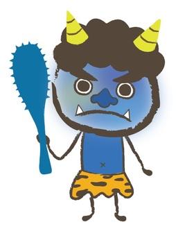 절분 푸른 악마 전체