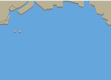 東京湾(埋立前)