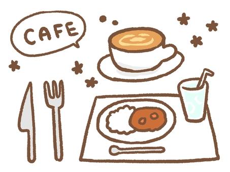 Cafe set