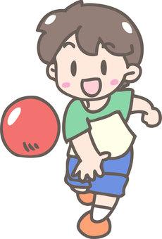 Ball play (throw)