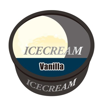 Luxury ice vanilla