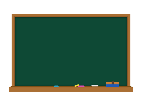 Blackboard _ illustration