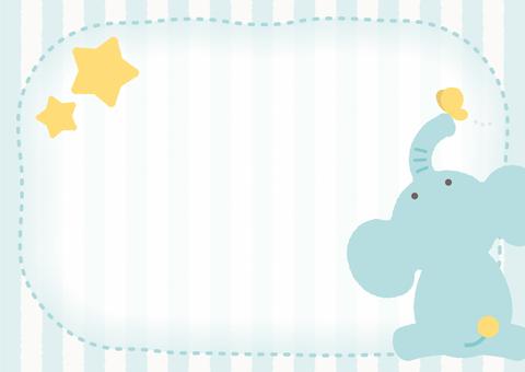 Elephant's message card
