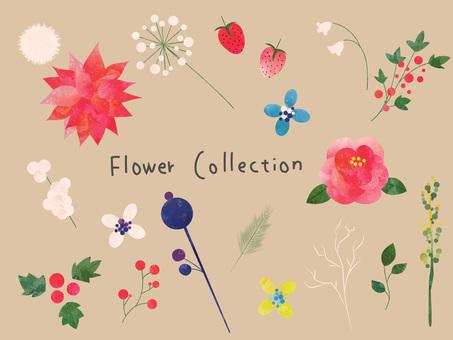 Flower set ver 01