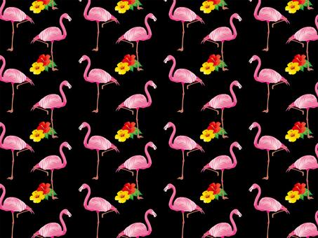 Animal _ flamingo pattern 03