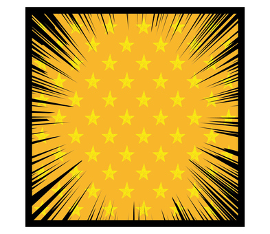 Concentrated line_star_yellow