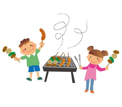 Fun barbecue