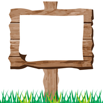 Frame of wood