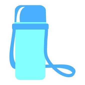 Water bottle (blue)